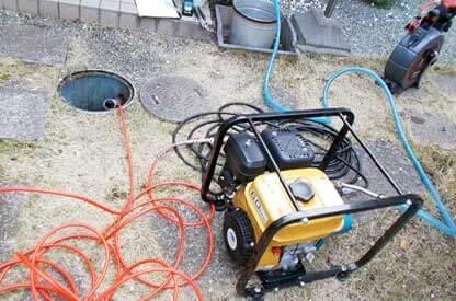 排水管の修理と交換