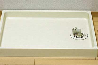 洗面所と洗濯機置き場の水もれ修理