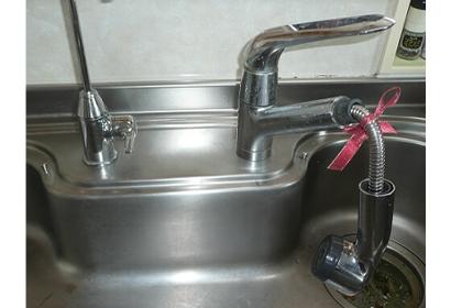 ジャバラホースの水漏れ