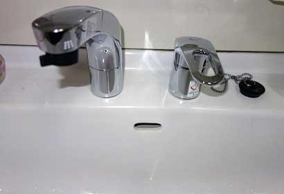 水道蛇口の水もれ修理