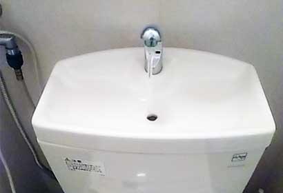 原因1)タンク内の水が少ない