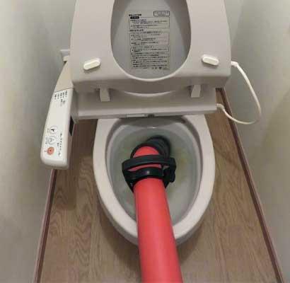 圧力式業務用ポンプでトイレつまりの解消