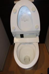 ペーパーが残るトイレ